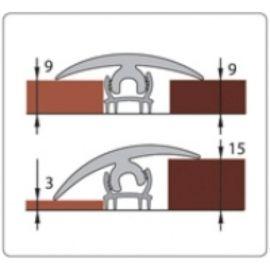 «Идеал» Порог гибкий универсальный Длина : 3 м