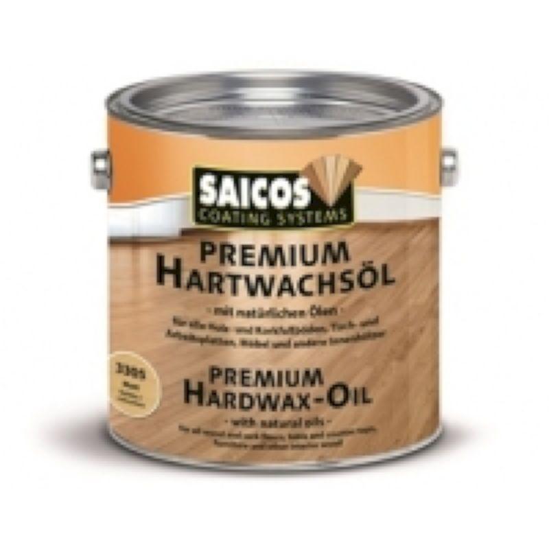 SAICOS Масло с твердым воском 3319 - Черный непрозрачное ультраматовое 2,5л