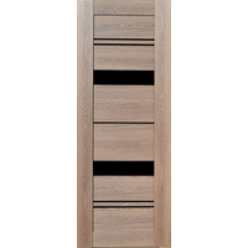 Межкомнатная дверь Экошпон Ривьера 52 Платина