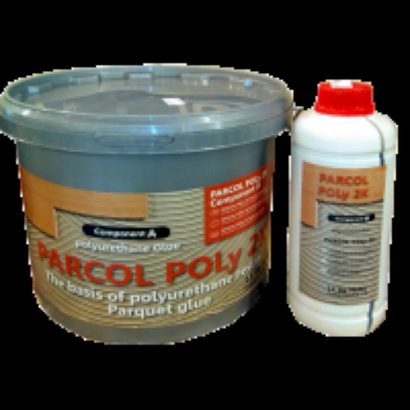 Двухкомпонентный ПУР клей для паркета Parcol Poly 2k