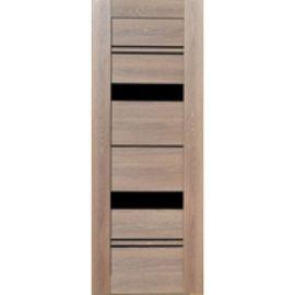 Межкомнатная дверь экошпон Ривьера 34 Орех мраморный