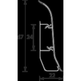 Плинтус IDEAL (ИДЕАЛ)  «Элит» Е67   2,5м