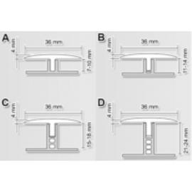 Порог гибкий Step Flex 3м (одноуровневый)